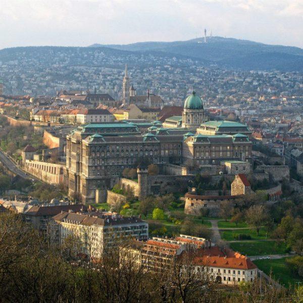 Château Buda et église Matthias - Budapest