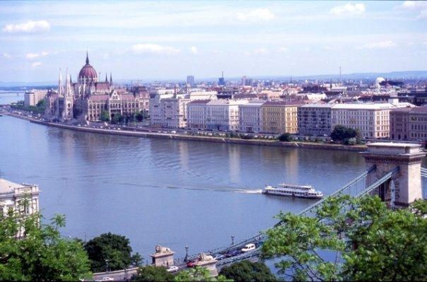 Le Danube à Budapest
