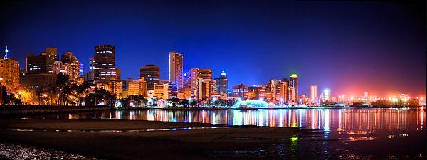 Afrique du Sud - Durban skyline, Kwa-Zulu Natal