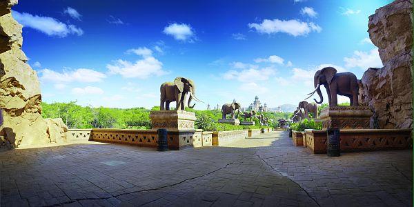 Afrique du Sud - cour royale