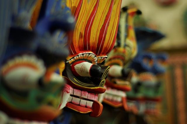 Woodcarvings - sri lanka