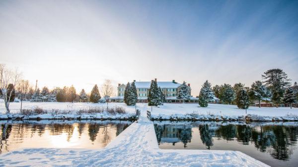Auberge Lac Eau Claire - hiver