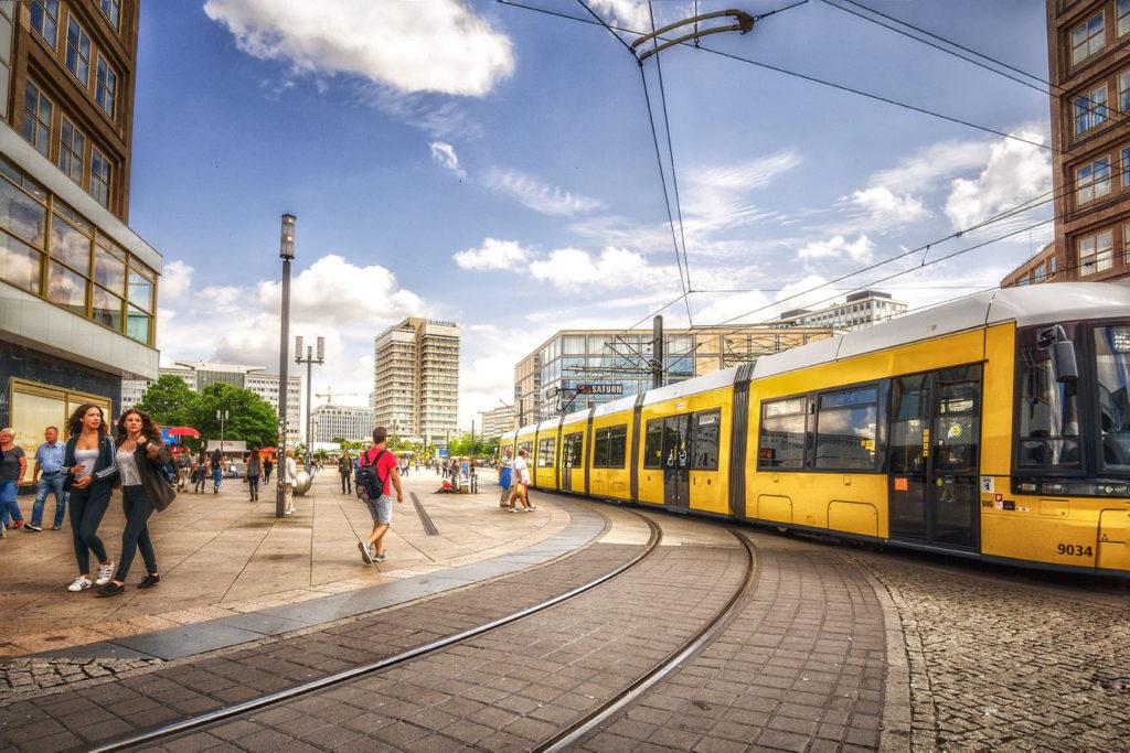 berlin - tram - alexanderplatz