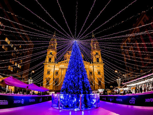 budapest - noel - illuminations