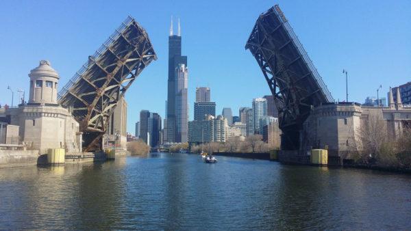 Chicago en Liberté - pont basculant