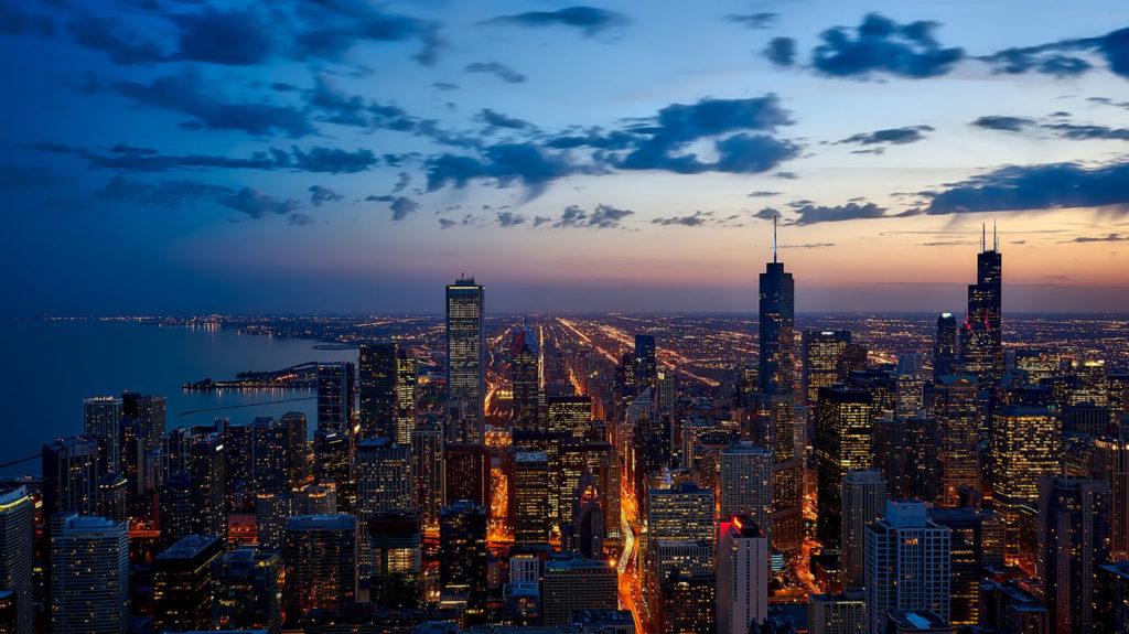 Chicago - horizon nuit