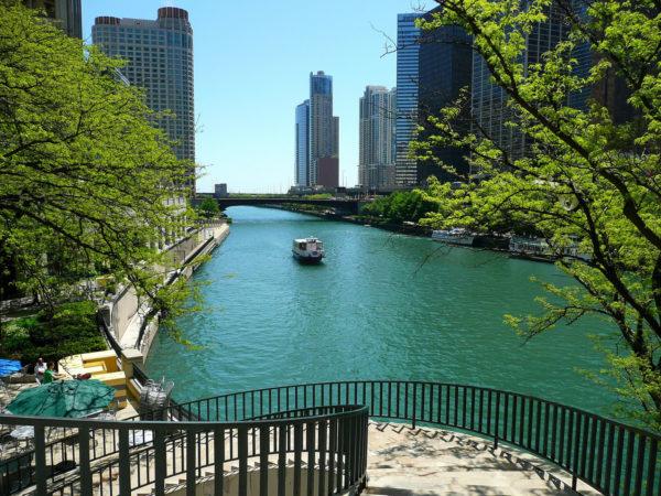 Chicago en Liberté - rivière