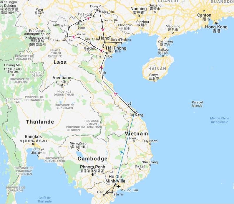 circuit vietnam hiver 2020