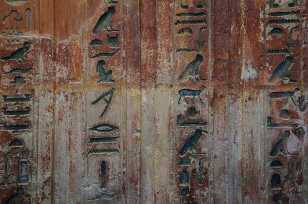 egypte - hieroglyphes