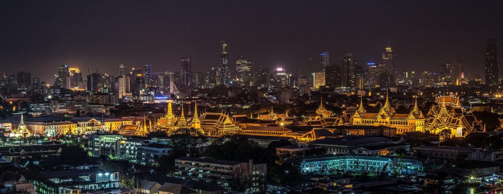 grand palais bangkok nuit