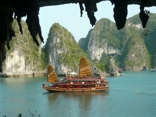 baie d'halong - vietnam - circuit