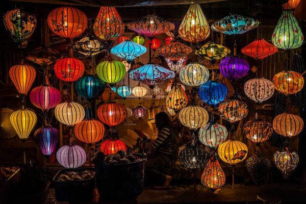 hoi an - vietnam - lampions