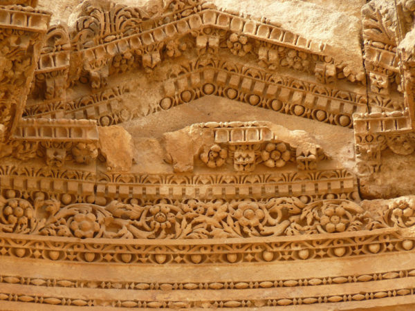 Jordanie - Gerasa - Sculptures
