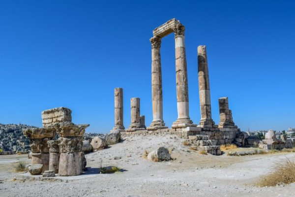 Jordanie - Circuit - Temple d'Hercules