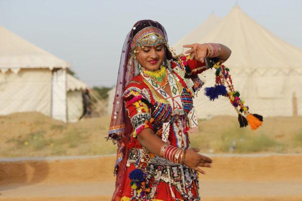 inde du nord - circuit - kalbeliya - danseuse
