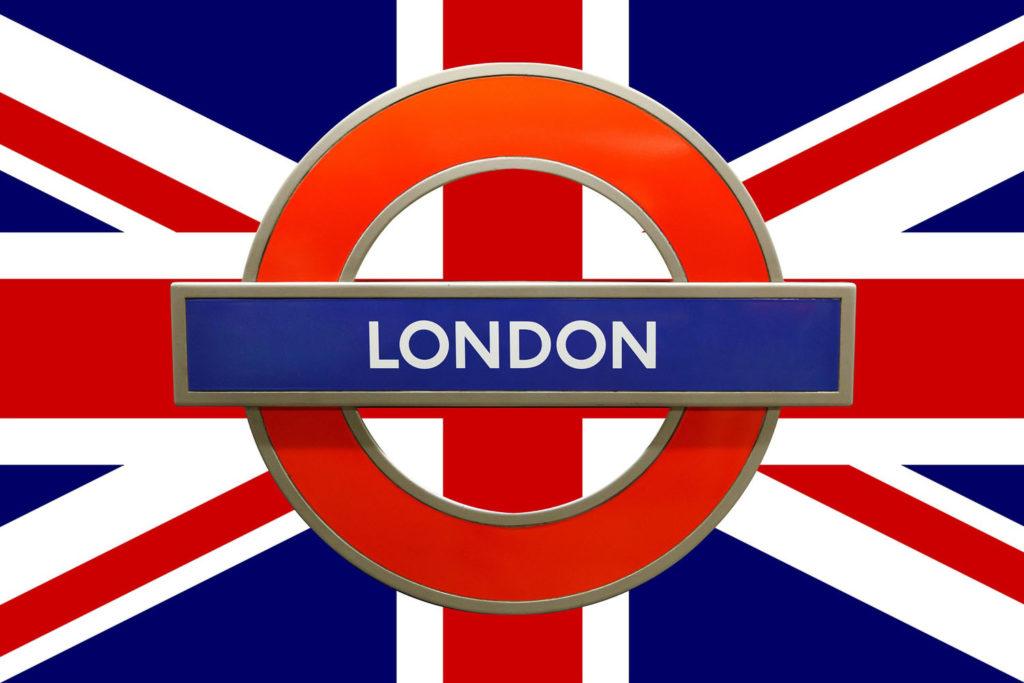 Week-end à Londres - drapeau