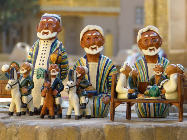 ouzbekistan - figurines