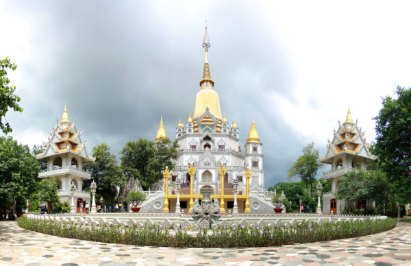 pagode - vietnam - circuit