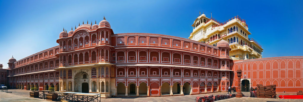 palais - jaipur - panorama