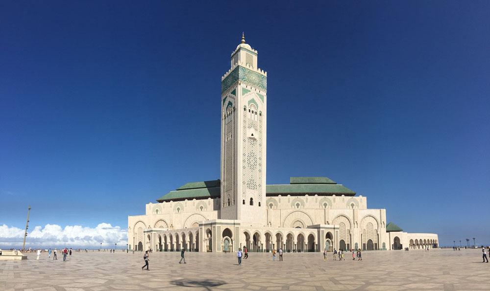 Casablanca - mosquée - Maroc