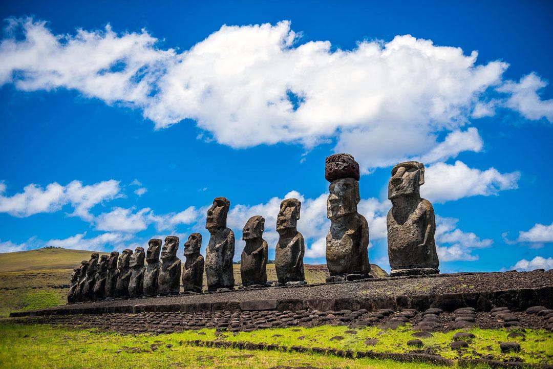 chili - moai - rapa nui - ile de paques