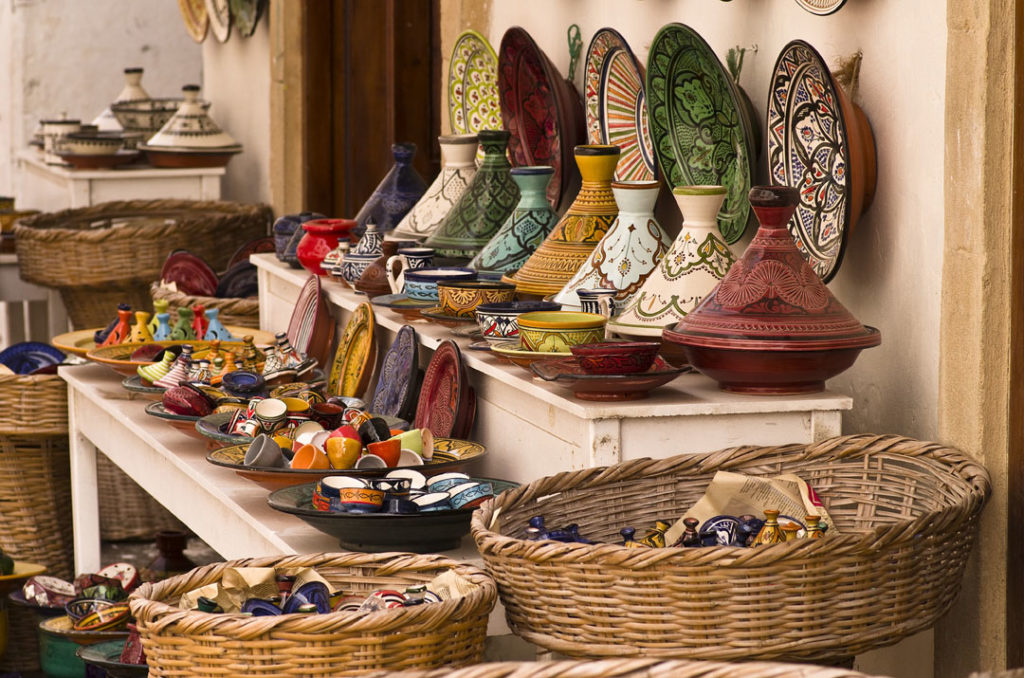 Maroc - marché - tajine