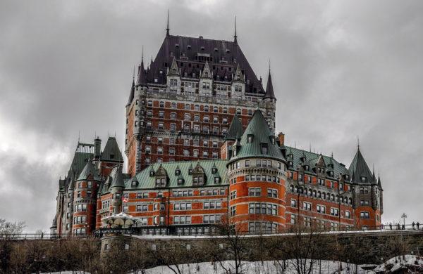 Québec - Château Champlain - hiver