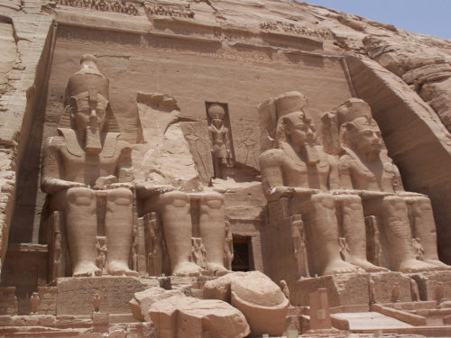 Abu Simbel - Ramses - Egypte