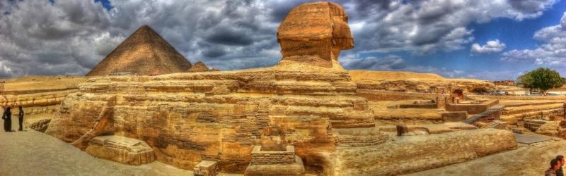 Panorama Sphinx Egypte