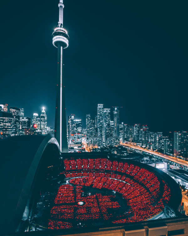tour CN - nuit - Toronto