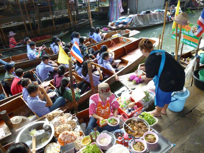 Thailande marché flottant (offres UVVA)