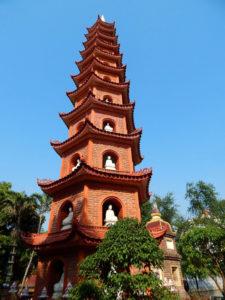 vietnam - hanoi - pagode