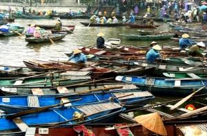 Marché sur l'eau - Vietnam