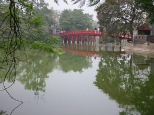 Pont dans un jardin - Vietnam